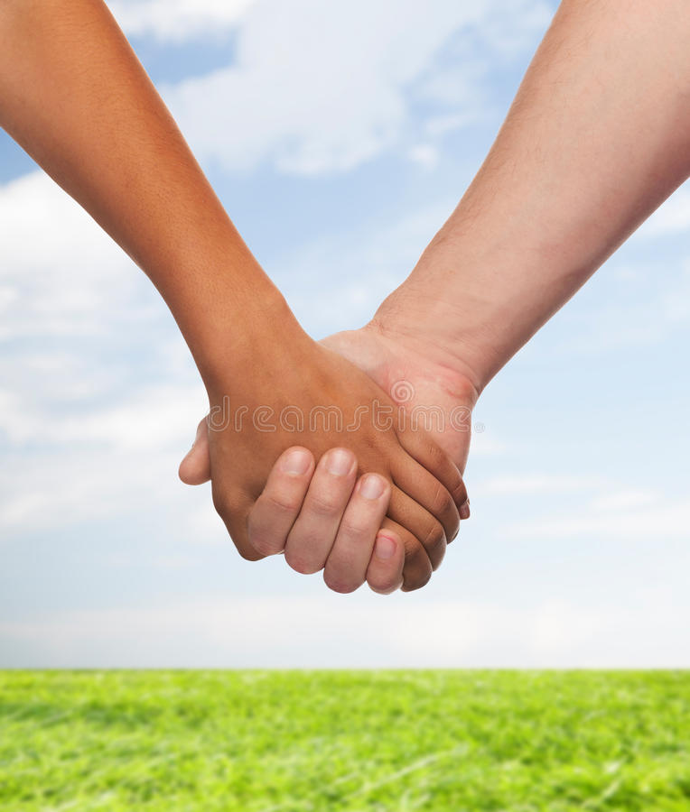 Download Woman And Man Holding Hands Stock Photos - Image: 38528953