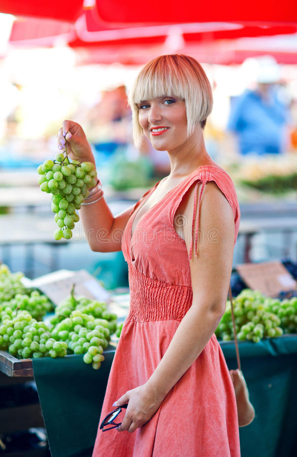 Download Woman On Market Place Stock Photography - Image: 26558142