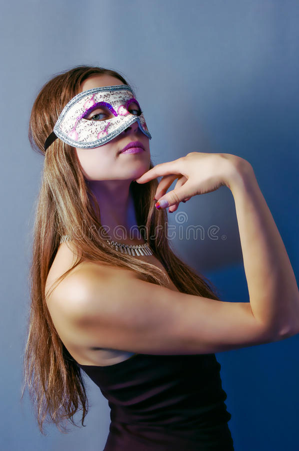 Download Woman In Mask 3 Stock Photo - Image: 11566540