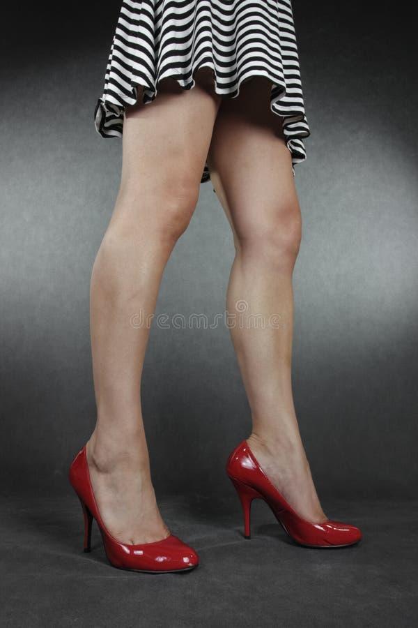 Free Woman Massaging Acking Feet Stock Images - 41698804