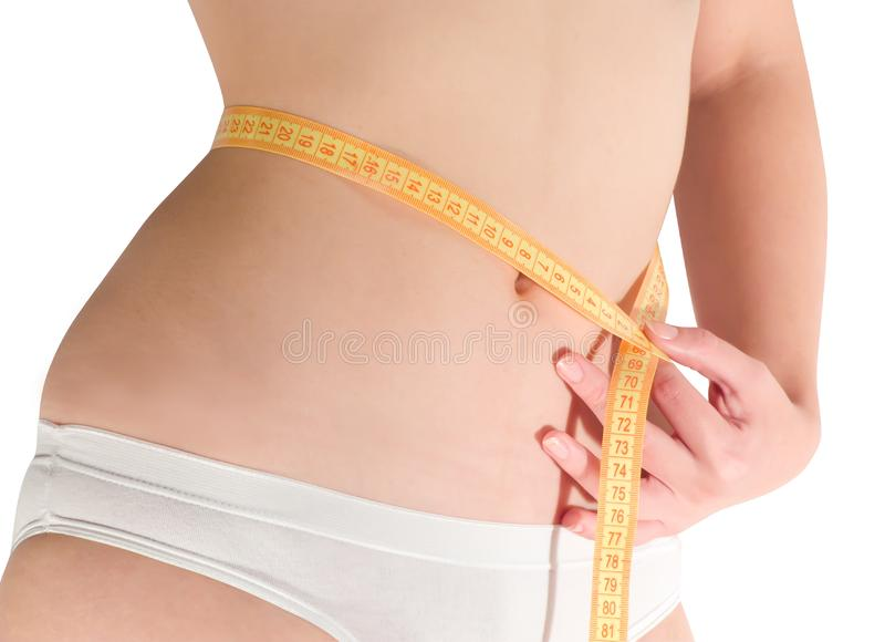 Woman Measuring Free Stock Images