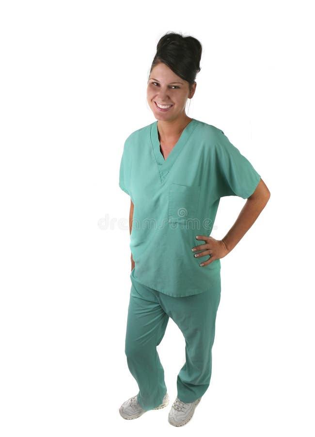 Woman Medical Staff Member royalty free stock image