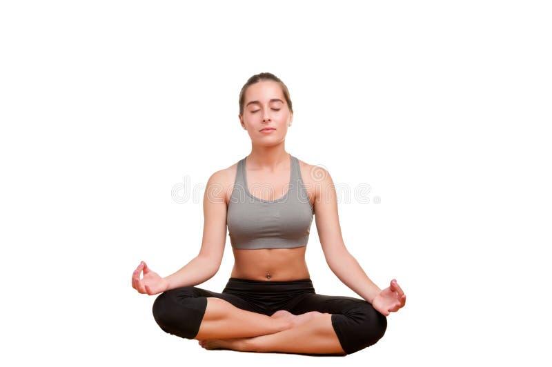 Download Woman Meditating stock photo. Image of peace, legged - 31946432