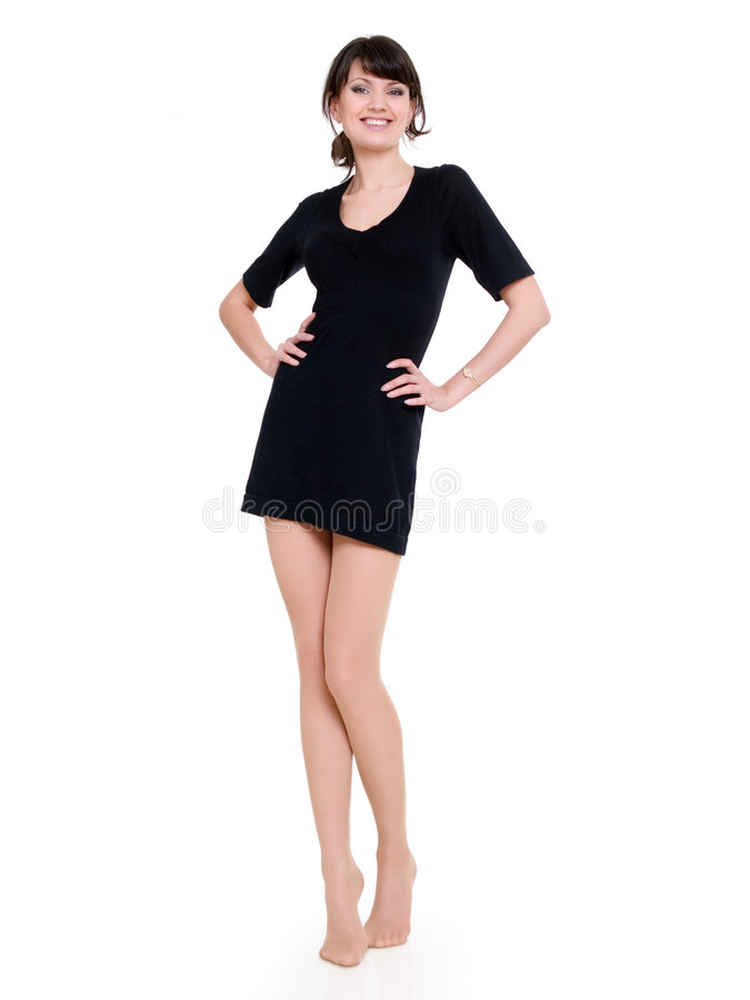 Download Woman in minidress stock image. Image of people, woman - 9024211