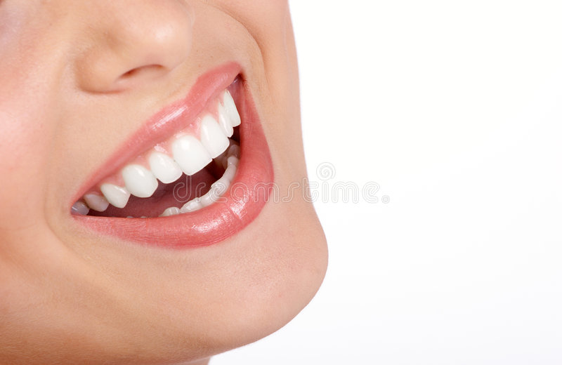 Woman mouth royalty free stock photo