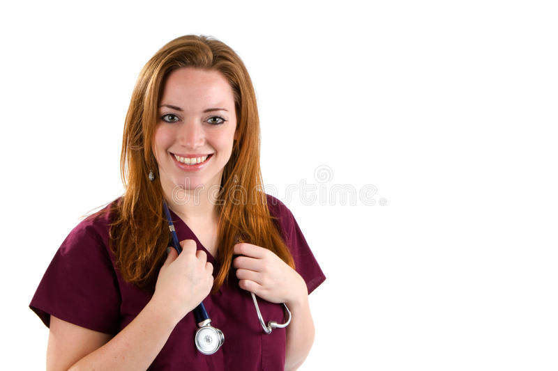 Woman Occupation Nurse royalty free stock images