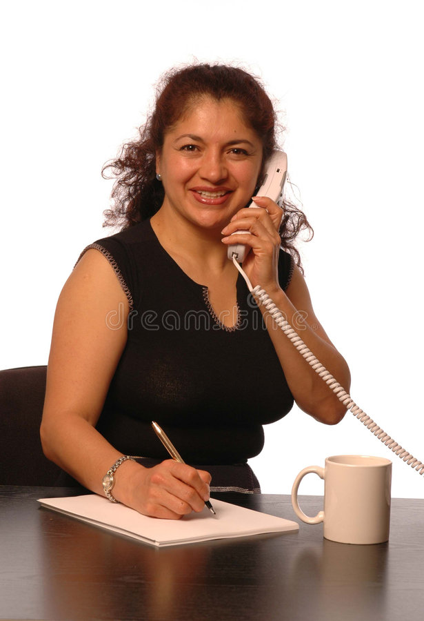 Woman in office royalty free stock image