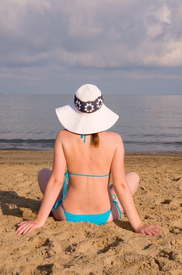 Free Woman On Beach Royalty Free Stock Photo - 10269785