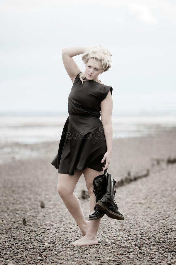 Free Woman On Beach Stock Photos - 25737903