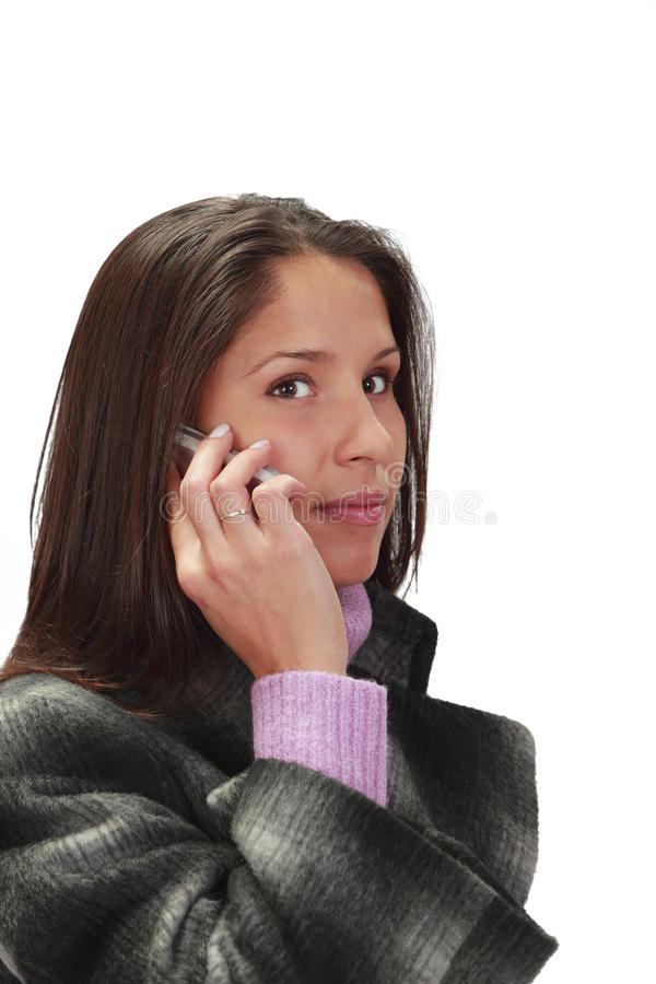 Free Woman On The Phone Royalty Free Stock Images - 11991879