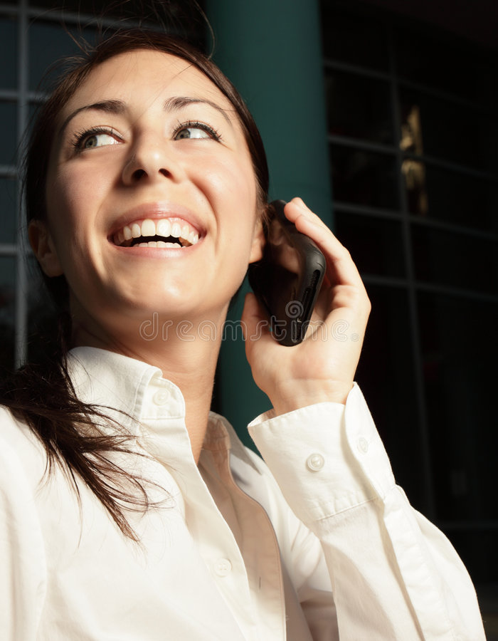 Free Woman On The Phone Stock Images - 8833934
