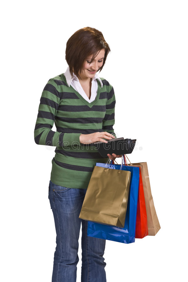 Download Woman out shopping stock image. Image of person, sale - 8942655