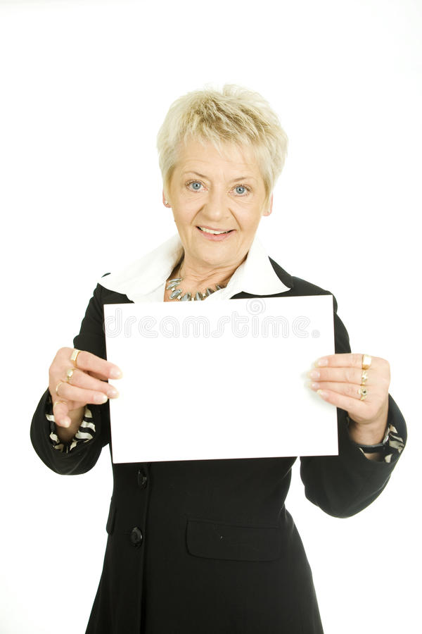 Download Woman With A Page Royalty Free Stock Images - Image: 19693909
