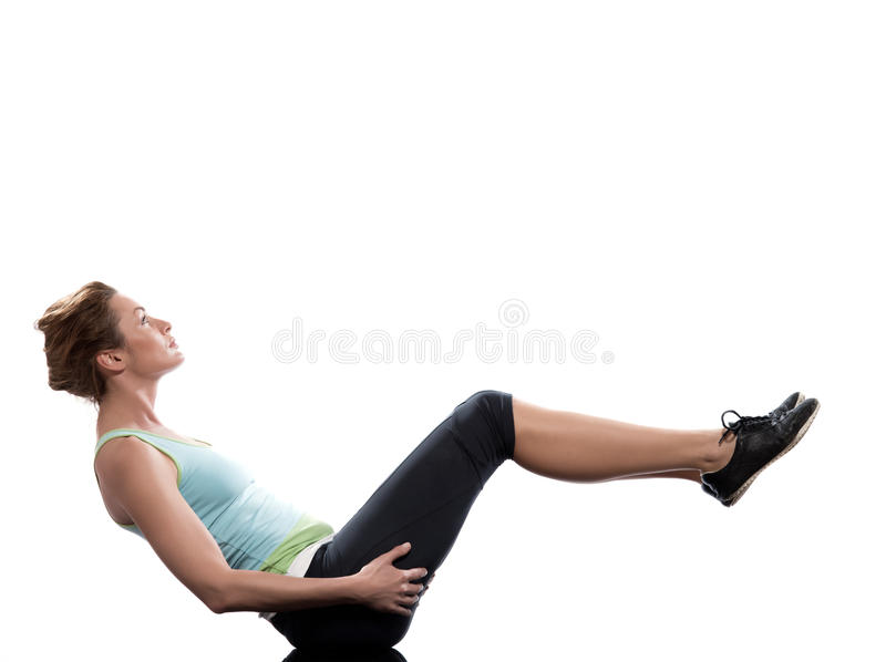 Download Woman Paripurna Navasana Boat Pose Yoga Posture Stock Image - Image of bodybuilding, fitness: 21535529