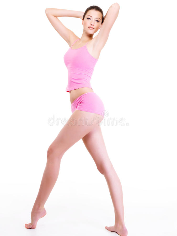 Download Woman With Perfect Slim Beautiful  Body Stock Photo - Image: 12239636