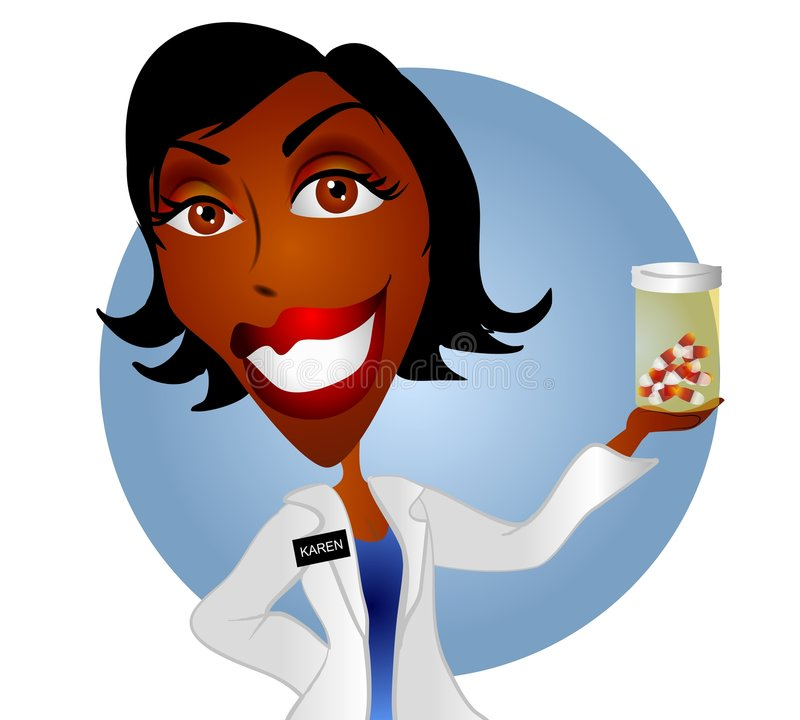 Download Woman Pharmacist Or Doctor 2 Stock Illustration - Illustration of images, doctors: 3352986