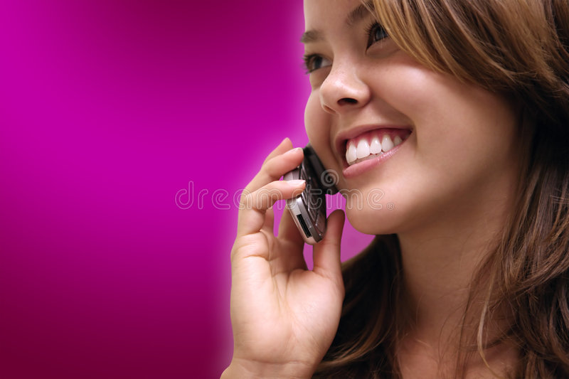 Download Woman On Phone Stock Image - Image: 1367831