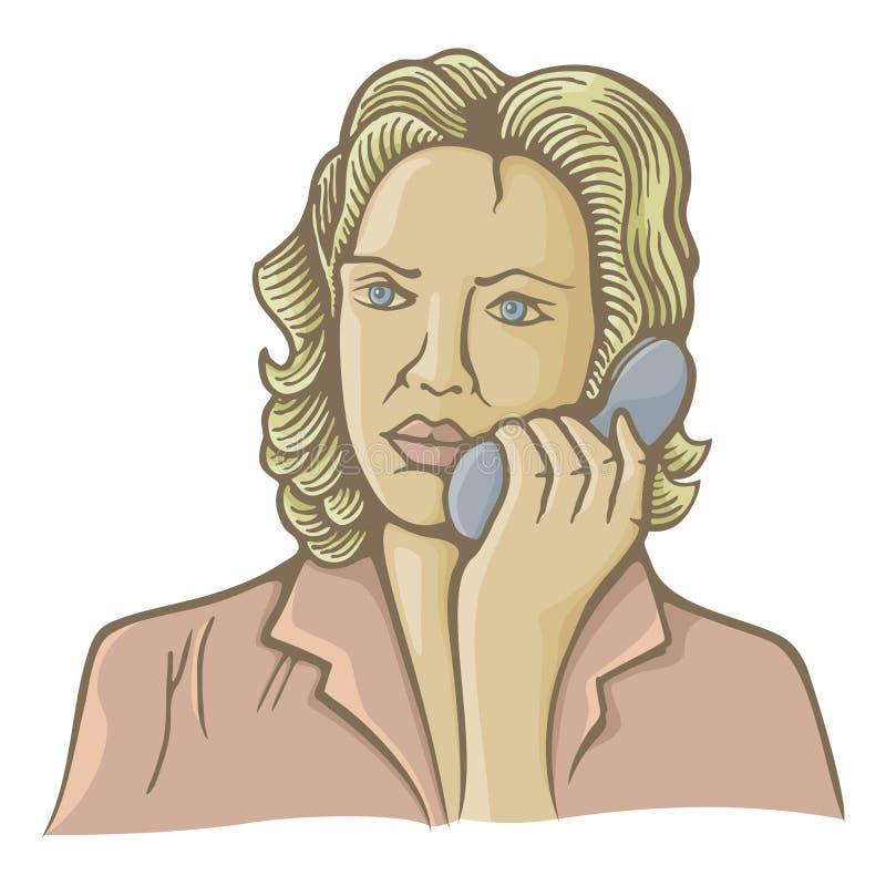 Woman On Phone Stock Image