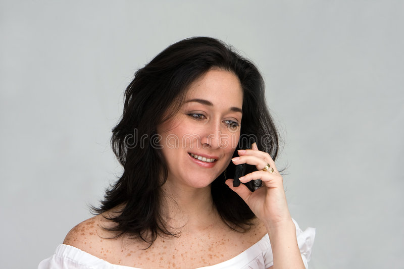 Download Woman on phone stock photo. Image of girl, talks, calling - 5167612