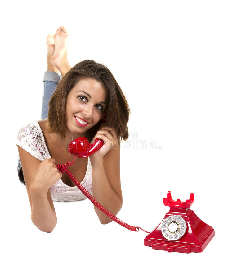 Download Woman on phone stock photo. Image of leader, elegant - 32397692