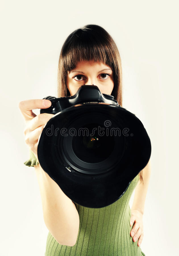 Download Woman  photographer stock photo. Image of girls, professional - 22785058