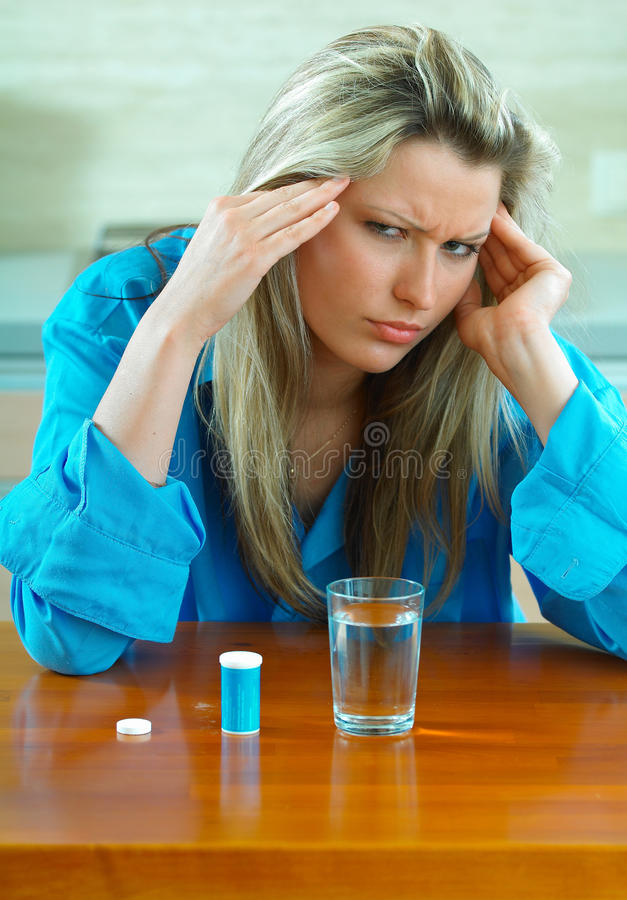 Download Woman with pills stock photo. Image of care, girl, health - 29577152