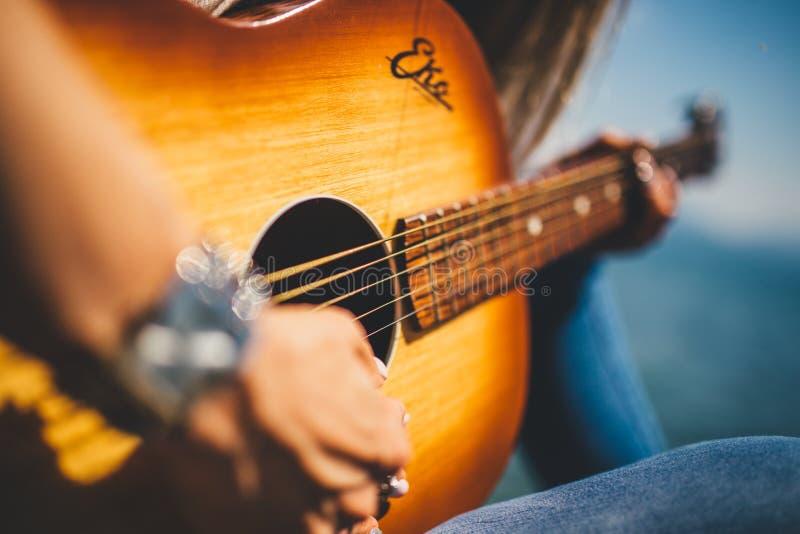 Woman Playing Guitar Free Public Domain Cc0 Image
