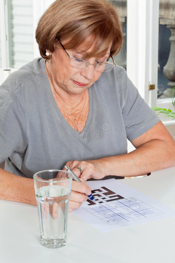 Download Woman Playing Leisure Games Stock Photos - Image: 36691753