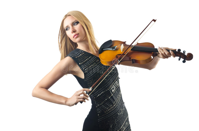 Download Woman Playing Violin Stock Photos - Image: 26841873