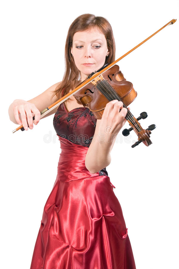 Download Woman plays the viola stock photo. Image of artistic - 20989622