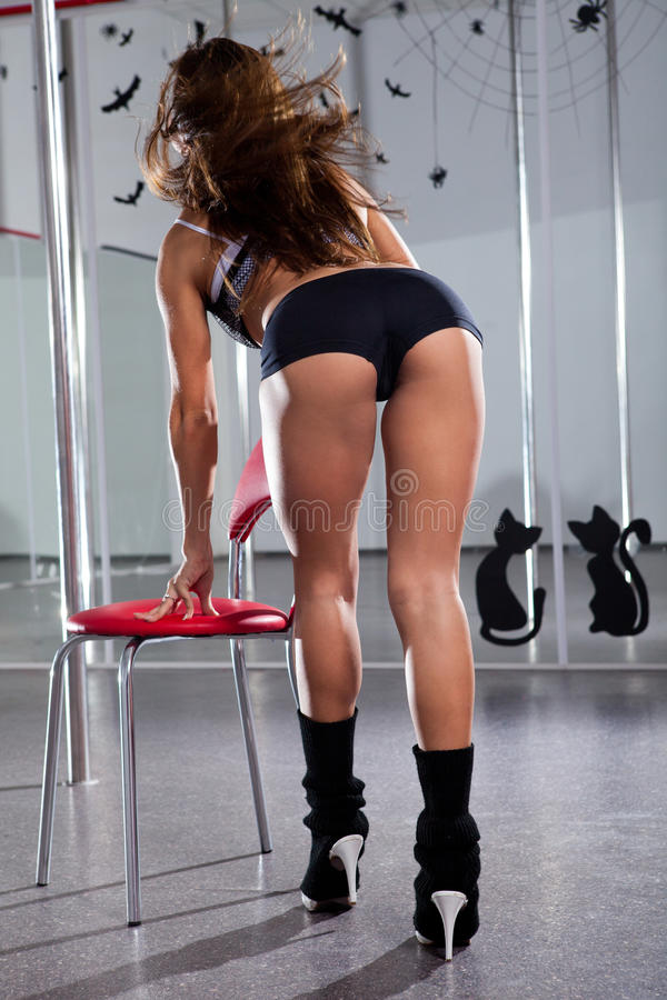 Download Woman and pole-dance stock photo. Image of female, beautiful - 26417162
