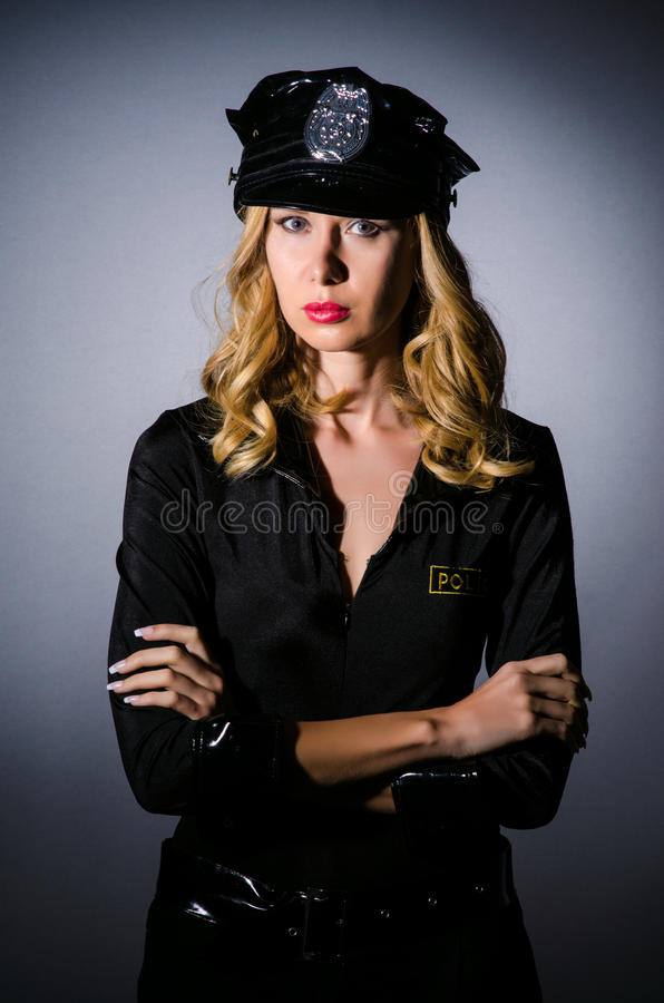 Download Woman police in  concept stock photo. Image of enforcement - 26841894