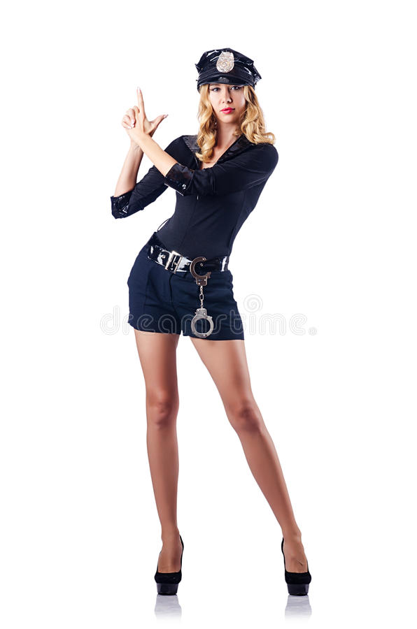 Download Woman police - the concept stock image. Image of body - 27047459