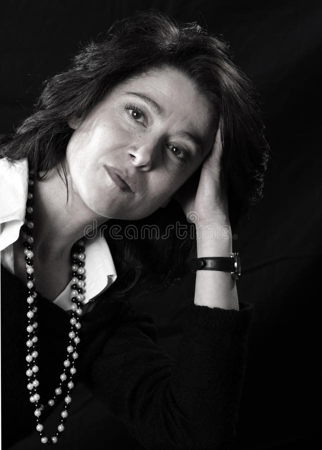 Woman portrait royalty free stock photography