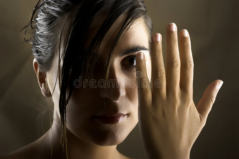 Woman portrait royalty free stock images