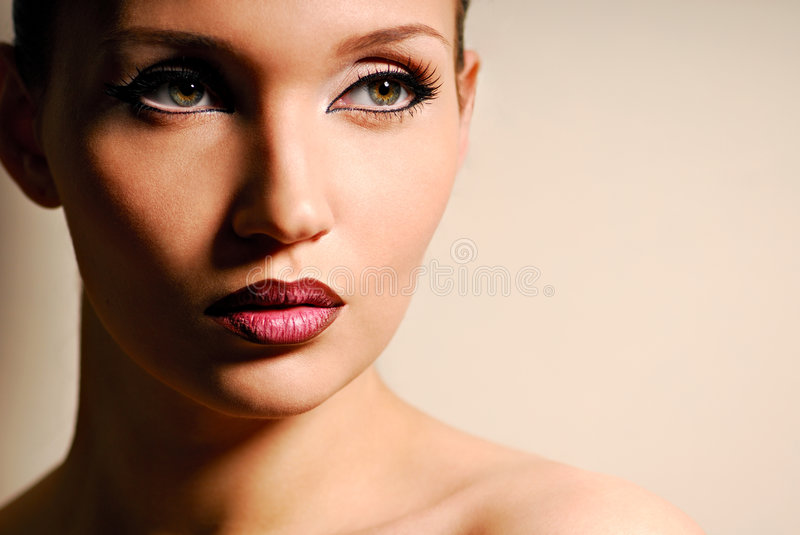 Woman portrait. royalty free stock photos