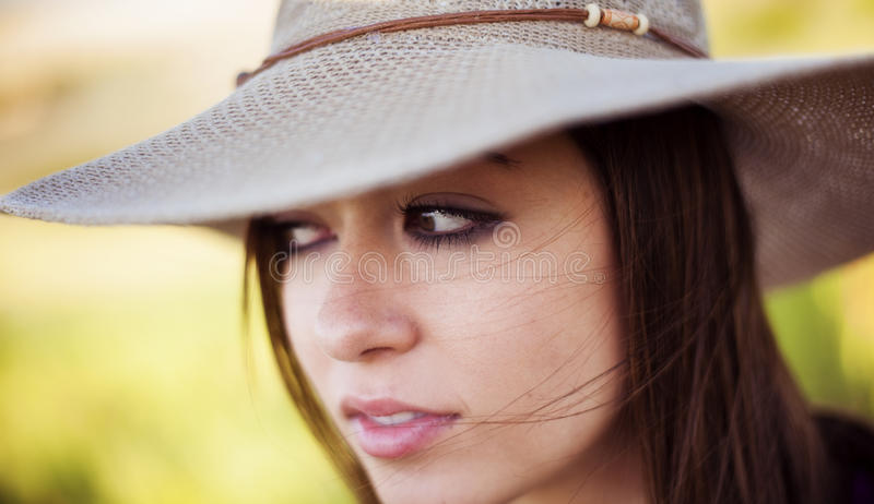 Woman portrait stock photos