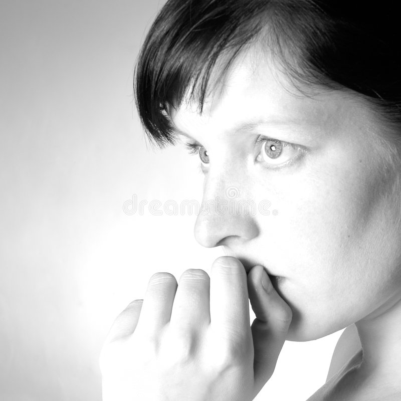Woman portrait II royalty free stock photography