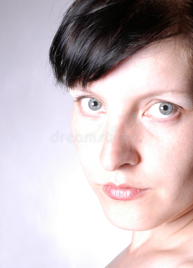 Woman portrait IV stock photography