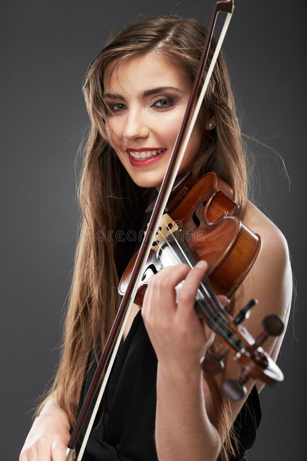 Music style fashion woman portrait. stock images