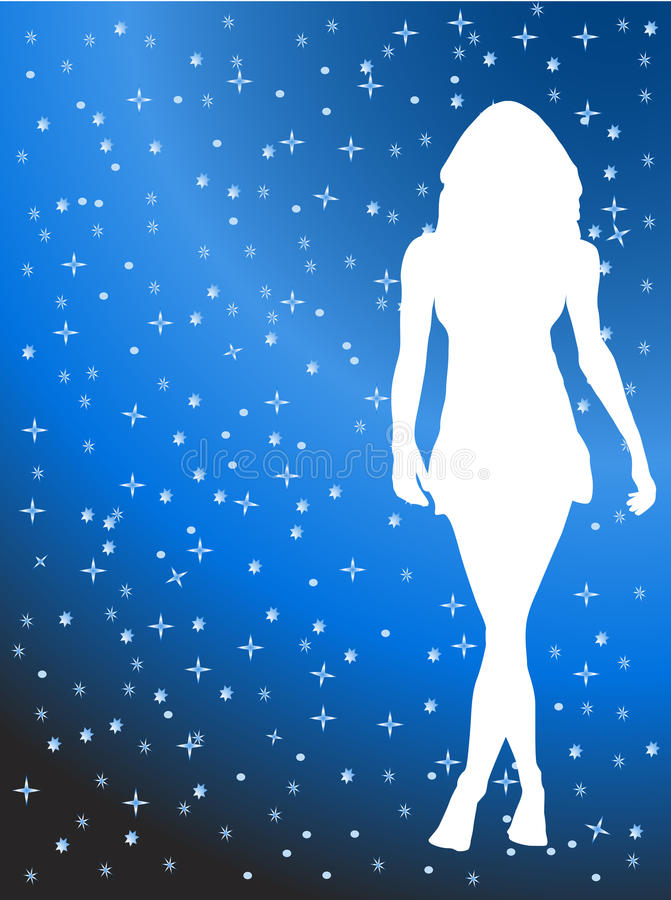 Download Woman posing stock vector. Illustration of background - 12775106