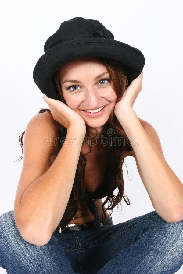 Download Woman posing stock photo. Image of business, beautiful - 410668
