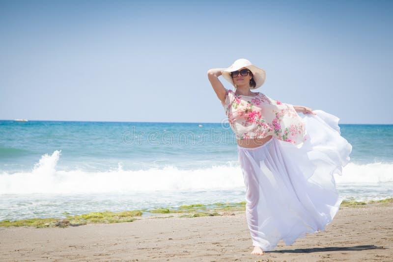 Woman posing royalty free stock image