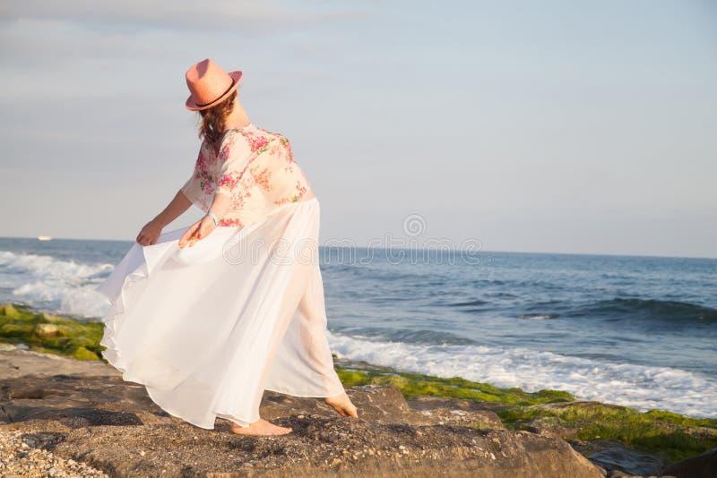 Woman posing stock photo