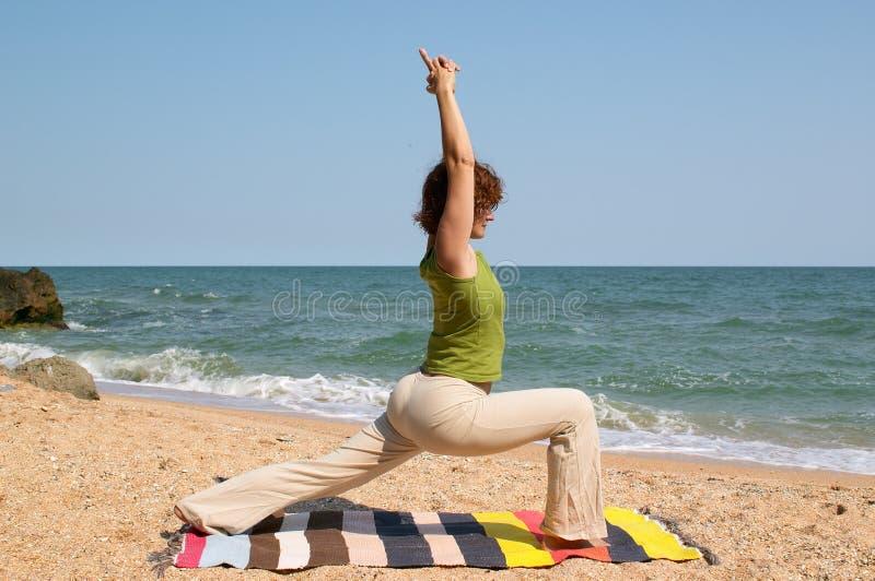 Download Woman practice yoga asana stock image. Image of healthcare - 7881661