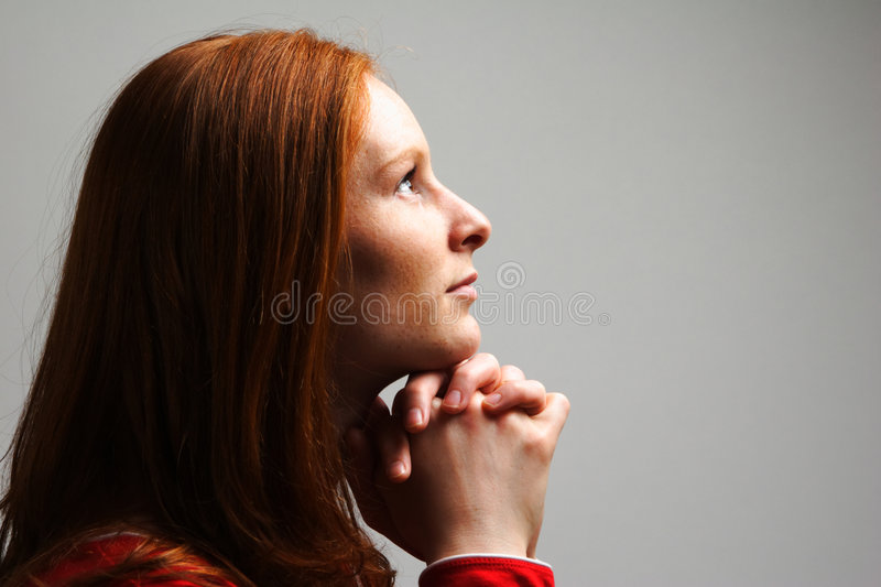 Download Woman in Prayer stock photo. Image of religion, caucasian - 5261040