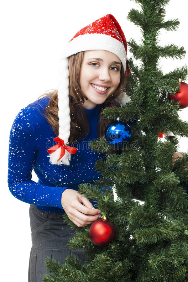 Download Woman prepare for new year stock photo. Image of face - 11438382