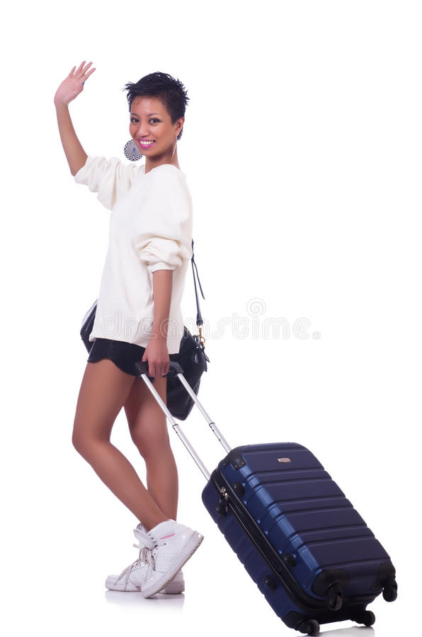 Download Woman preparing stock image. Image of airport, afro, fashion - 31039659