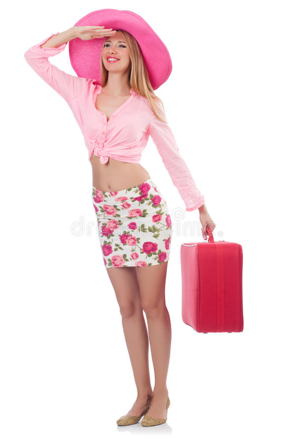 Download Woman Preparing For Travel Royalty Free Stock Photos - Image: 33965088