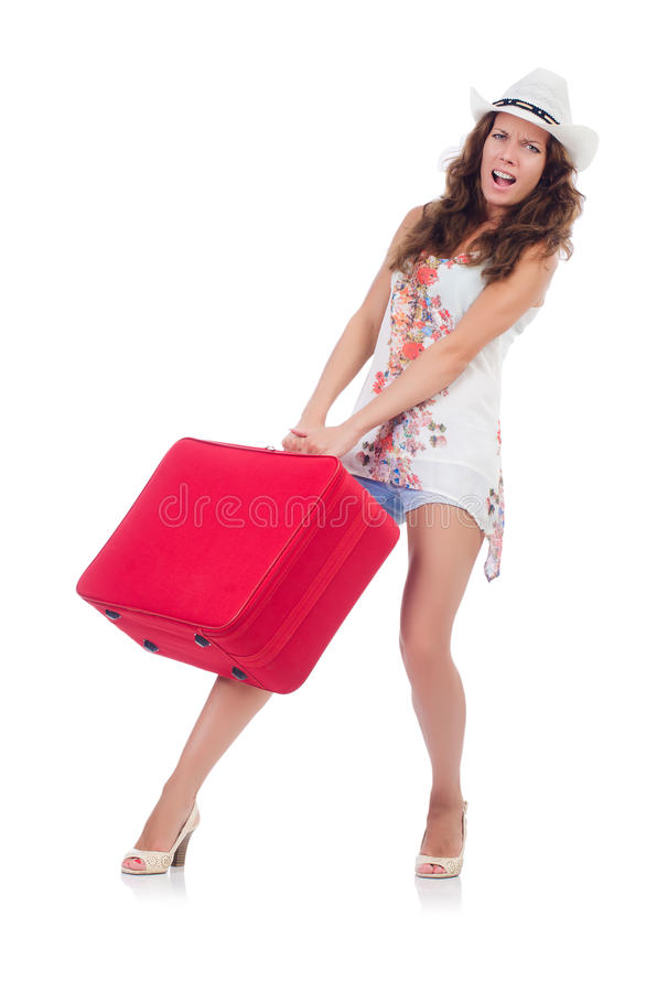 Download Woman preparing for travel stock photo. Image of handsome - 33965094
